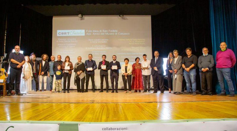 foto premiazione cortintelvi 2020
